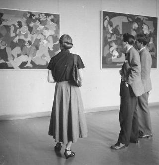 Prima retrospettiva, Helmhaus Zurigo, 1953
