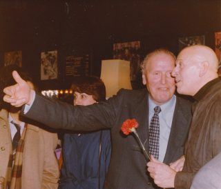 1982. With Federal Councillor Willi Ritschard