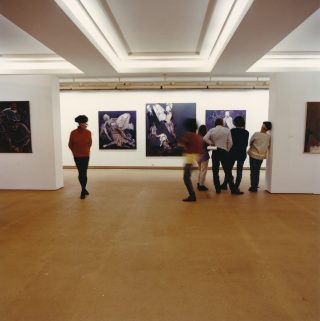 1989. The retrospective at the Kunsthaus in Zurich