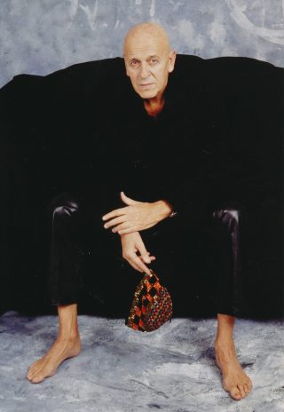1992. Mario Comensoli in a photograph by Christine Seiler